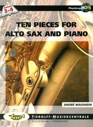 André Waignein - Ten Pieces For Viola Sax And Piano - Sheet Music - di-arezzo.com