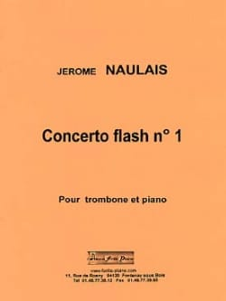 Jérôme Naulais - Concerto flash n ° 1 - Sheet Music - di-arezzo.co.uk