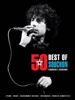 Alain Souchon - 50 Best Of - Alain Souchon - Partition - di-arezzo.fr