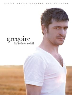 Grégoire - The same Sun - Sheet Music - di-arezzo.com