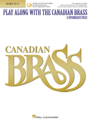 Play Along With the Canadian Brass - 15 intermediate Pieces - laflutedepan.com
