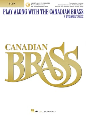 - Play Along With the Canadian Brass - 15 intermediate Pieces - Partition - di-arezzo.fr