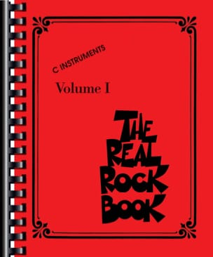 The Real Rock Book Volume 1 - C Instruments Partition laflutedepan