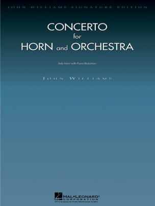 John Williams - Concerto For Horn - Partition - di-arezzo.fr