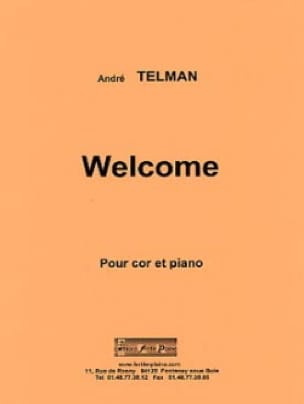 André Telman - Welcome - Sheet Music - di-arezzo.com