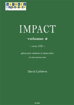 David Lefebvre - Impact Volume 2 - Partition - di-arezzo.fr
