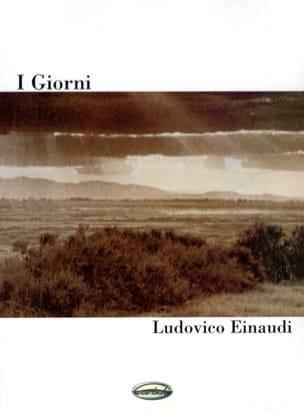 Ludovico Einaudi - I Giorni - Partition - di-arezzo.fr