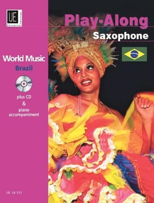 World Music Brazil Partition Saxophone - laflutedepan