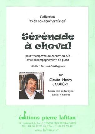 Sérénade à Cheval Claude-Henry Joubert Partition laflutedepan