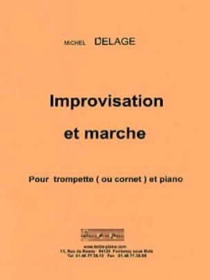 Improvisation et Marche Michel Delage Partition laflutedepan