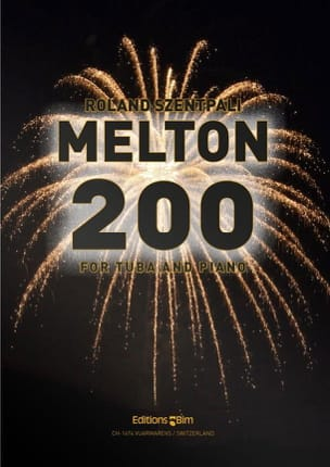Roland Szentpali - Melton 200 - Partition - di-arezzo.fr