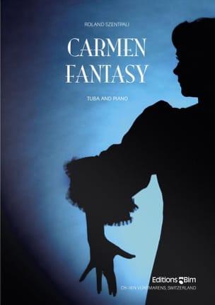 Roland Szentpali - Carmen Fantasy - Partition - di-arezzo.fr