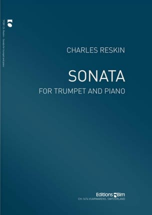 Sonata Charles Reskin Partition Trompette - laflutedepan