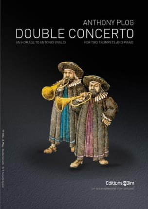 Double Concerto Anthony Plog Partition Trompette - laflutedepan