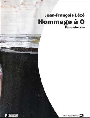 Hommage à O - Jean-François Lézé - Partition - laflutedepan.com