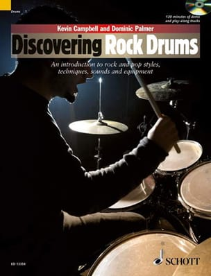 Campbell Kevin / Palmer Dominic - Discovering Rock rums - Partition - di-arezzo.fr