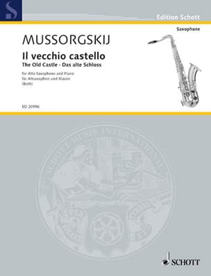 Modeste Petrovitch Mussorgsky - Il Vecchio Castello - The Old Castle - Sheet Music - di-arezzo.co.uk