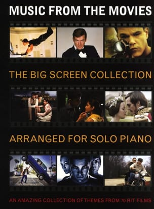 - Music from the Movies - The Big Screen Collection - Partition - di-arezzo.fr