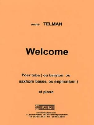 André Telman - Welcome - Partition - di-arezzo.fr