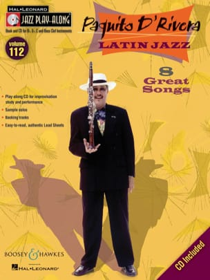 Jazz play-along volume 112 - Latin Jazz - 8 Great Songs laflutedepan