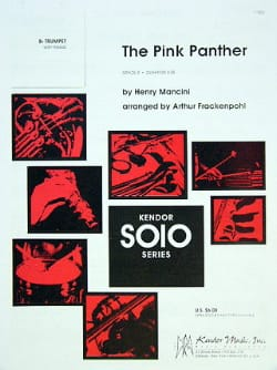 The Pink Panther Henry Mancini Partition Trompette - laflutedepan