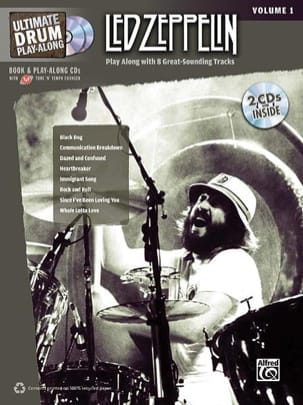 Led Zeppelin - Ultimate Drum play-along volumen 1 - Partitura - di-arezzo.es