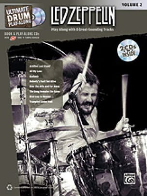 Led Zeppelin - Ultimate Drum play-along volume 2 - Sheet Music - di-arezzo.com