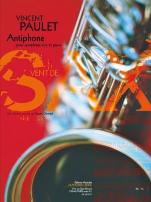 Antiphone Vincent Paulet Partition Saxophone - laflutedepan