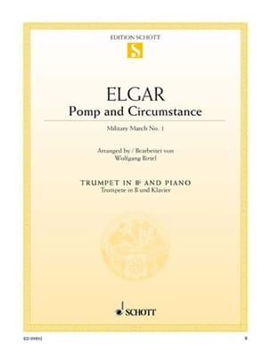 ELGAR - Pomp and Circumstance - Military March N° 1, Opus 39/1 - Partition - di-arezzo.fr