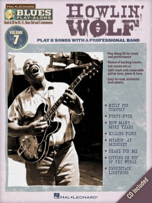 Blues Play-Along Volume 7 - Howlin' Wolf - laflutedepan.com