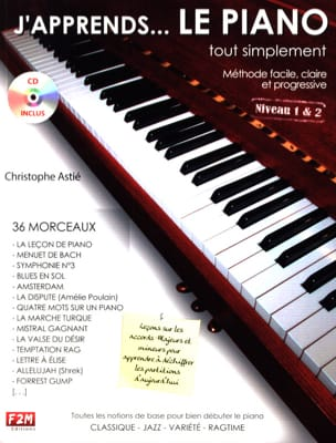 Christophe Astié - J' Apprends... le piano tout simplement - Sheet Music - di-arezzo.com
