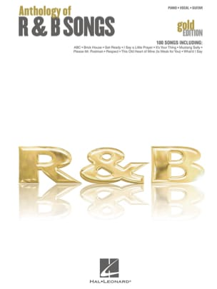 - Anthology of R&B Songs - Gold Edition - Partition - di-arezzo.fr