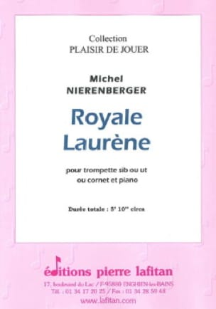 Royale Laurène - Michel Nierenberger - Partition - laflutedepan.com