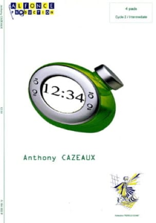 Anthony Cazeaux - 12:34 - Sheet Music - di-arezzo.co.uk
