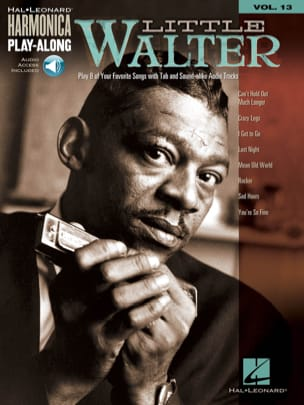 Little Walter - Harmonica Play-Along Volume 13 - Partition - di-arezzo.fr