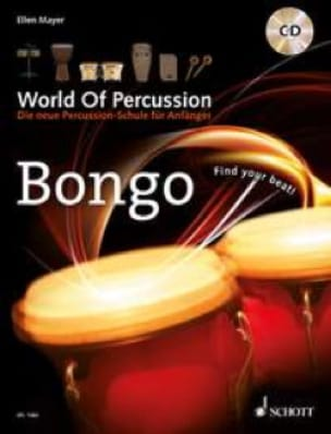 Ellen Mayer - World of Percussion - Bongo - Partition - di-arezzo.fr
