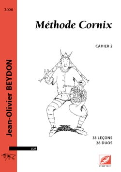 Jean-Olivier Beydon - Cornix Method Volume 2 - Sheet Music - di-arezzo.co.uk