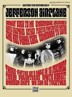 Jefferson Airplane - Guitar Tab Anthology - Authentic Guitar Tab Edition - Sheet Music - di-arezzo.com