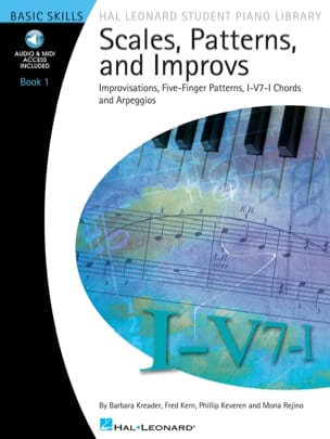 Kreader Barbara / Kern Fred / Keveren Phgillip / Rejino Mona - Scales, Patterns and Improvs Book 1 - Sheet Music - di-arezzo.co.uk