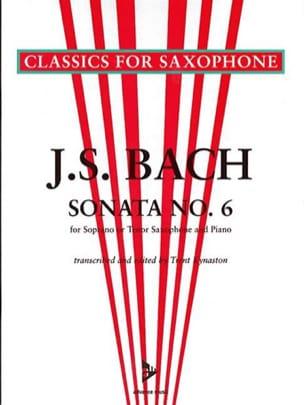 BACH - Sonata N ° 6 - Partitura - di-arezzo.es