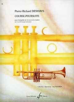 Course-Poursuite Pierre-Richard Deshays Partition laflutedepan