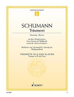 Trämerei - Robert Schumann - Partition - Trompette - laflutedepan.com