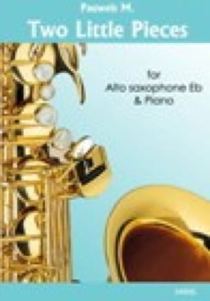 Two little pieces Maurice Pauwels Partition Saxophone - laflutedepan