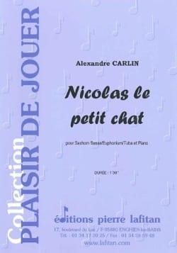 Alexandre Carlin - Nicolas le petit chat - Partition - di-arezzo.fr