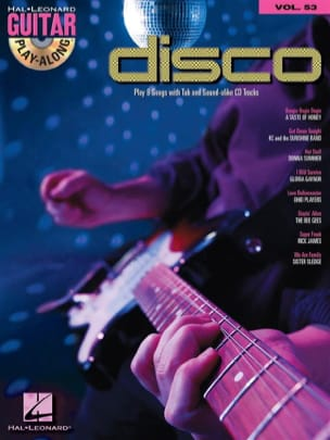 - Guitar Play-Along Volume 53 - Disco - Partition - di-arezzo.fr