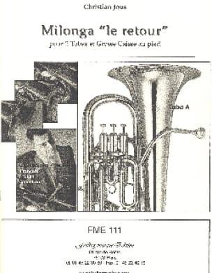 Christian Jous - Milonga the Return - Sheet Music - di-arezzo.com