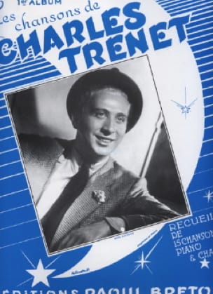 Charles Trenet - Canciones de Trenet Album N ° 1 - Partitura - di-arezzo.es