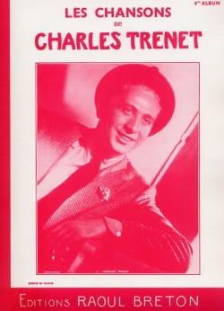 Charles Trenet - Les Chansons de Trenet Album N° 4 - Partition - di-arezzo.fr