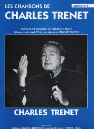 Charles Trenet - Les Chansons de Trenet Album N° 5 - Partition - di-arezzo.fr