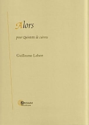 Guillaume Lebert - So - Sheet Music - di-arezzo.com